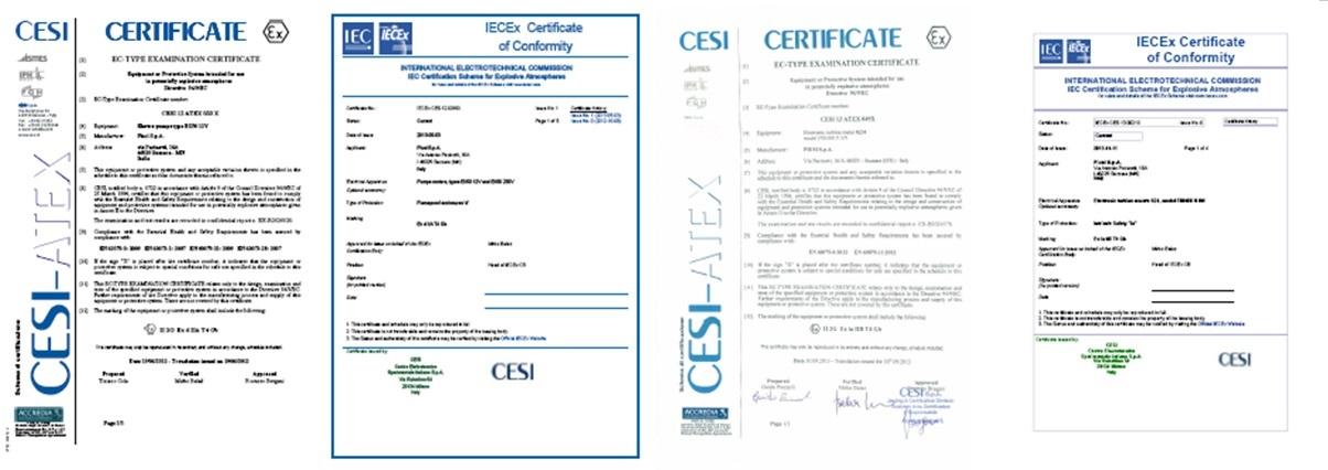 CESI Certifikati